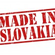 Made in Slovakia stamp — Stock Vector