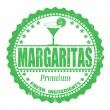 sello de margaritas — Vector de stock