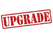 Upgrade stamp — Stock Vector