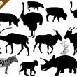 Set of animals collection — Stock Vector #33723183