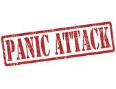 Panic attack stamp — Stock Vector