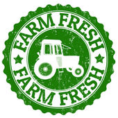 Farm Fresh stamp — Stock Vector