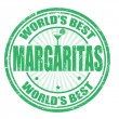 Stock Vector: Margaritas stamp