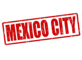 Mexico city stamp — Stock Vector