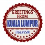 Kuala Lumpur stamp — Stock Vector
