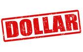 -dollarzegel — Stockvector