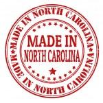 Made in North Carolina stamp — Stock Vector