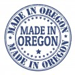 Made in Oregon stamp — Stock Vector #34654693
