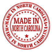Made in North Carolina stamp — Stock Vector
