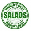 Salads stamp — Vector de stock #34686057