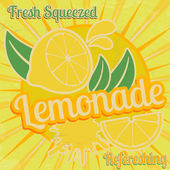 Lemonade poster — Stock Vector