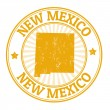 New Mexico stamp — Stock Vector