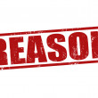 Reason stamp — Image vectorielle