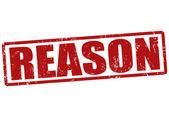 Reason stamp — Vecteur
