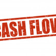Cash flow stamp — Stockvectorbeeld
