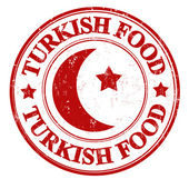 Turkish food stamp — Stock Vector
