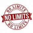 Stock Vector: No limits stamp