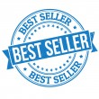 Best seller stamp — Stock Vector #36389245