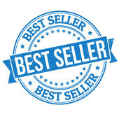 Best seller stamp — Stockvector
