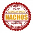 Nachos stamp — Stock Vector