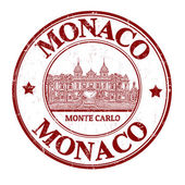 Monaco stamp — Stock Vector