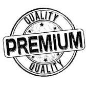Sello de calidad premium — Vector de stock