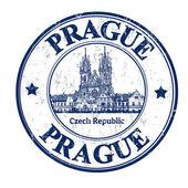 Prague stamp — Stock Vector