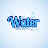 Water icon — Stock Vector