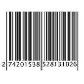 Bar code — Stock Vector