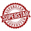Superstar stamp — Stock Vector #36823163
