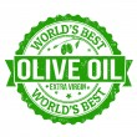 Olive Oil stamp — Stock Vector