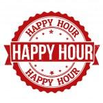 timbre de l'happy hour — Vecteur