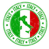 Italy stamp — Stock Vector