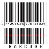 Código de barras — Vector de stock