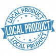 Stock Vector: Local product stamp