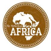 アフリカのスタンプ — ストックベクタ