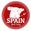 Stock Vector: Spain stamp