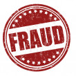Stock Vector: Fraud stamp