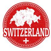 Switzerland stamp — Stock Vector