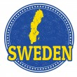 Sweden stamp — Stock Vector