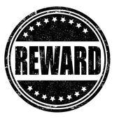 Reward stamp — Stock Vector