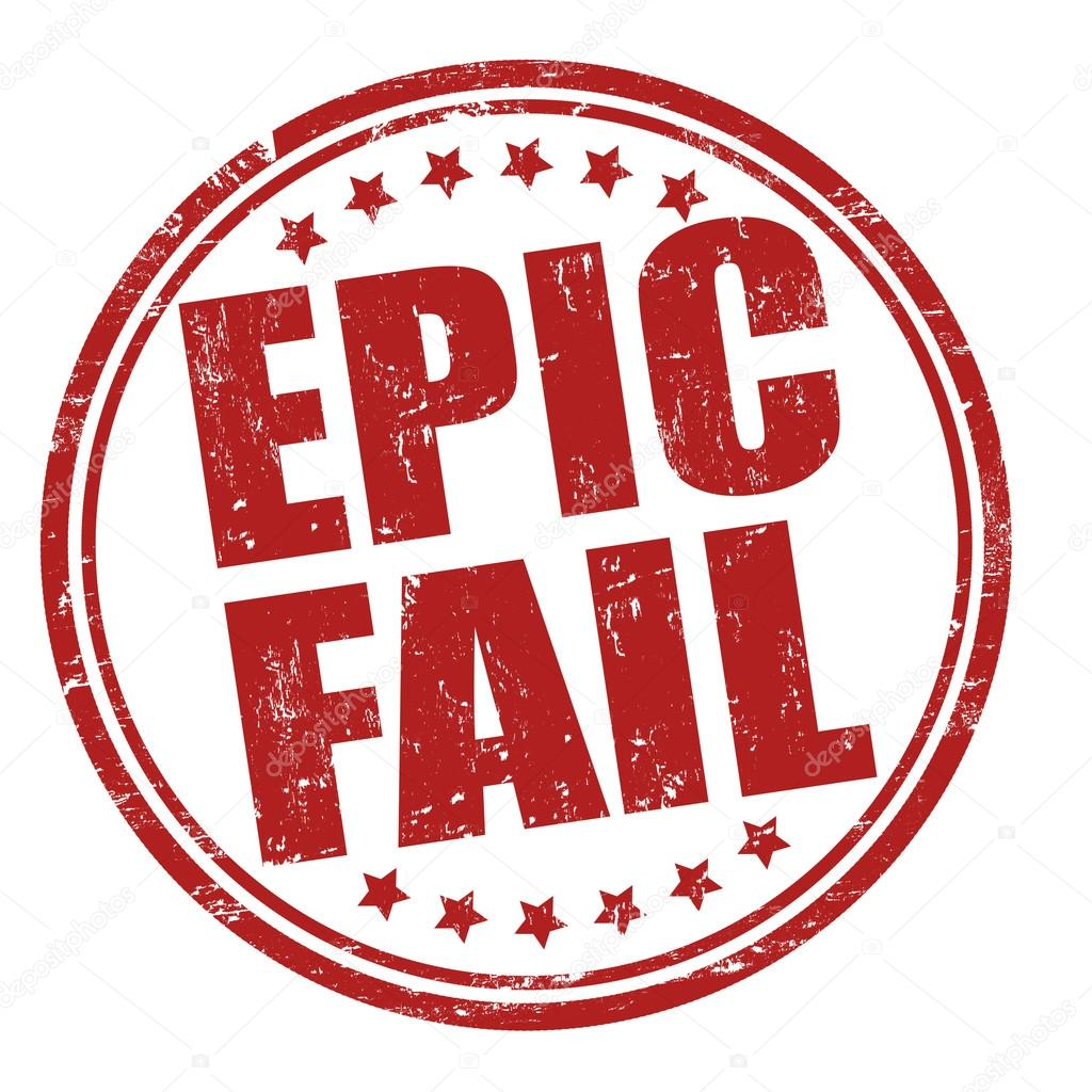 Epic fail stamp stock vector roxanabalint 38418033 for Www famil