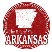 Arkansas stamp — Stock Vector