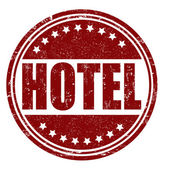 Hotel stamp — Stock Vector