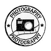 Fotografie-Stempel — Stockvektor