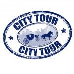 City tour — Stock Vector
