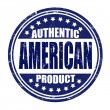 Authentic american product stamp — Stock Vector #39345211