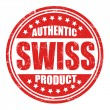 Authentic swiss product stamp — Stock Vector #39654711
