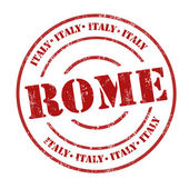 Rome, Italy stamp — Stock Vector