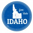 Idaho stamp — Stock Vector #39824319